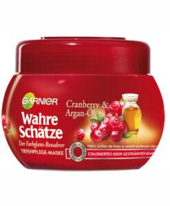 Kem ủ tóc GARNIER Wahre Schätze dành cho tóc nhuộm, 300ml