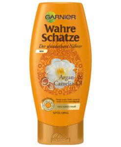 Dầu xả GARNIER Wahre Schätze dành cho tóc khô, 200ml