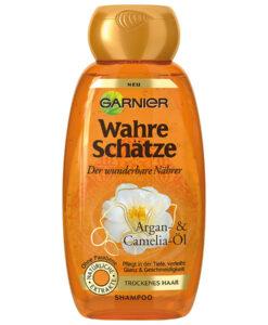 Dầu gội GARNIER Wahre Schätze dành cho tóc khô, 250ml