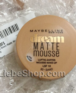 Maybelline Dream Matte Mousse Make-up Sand 030 - mẫu mới