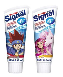 Kem đánh răng trẻ em Signal Junior Mild & Cool, 75ml