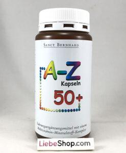 Vitamin tổng hợp A-Z Kapseln 50plus cho người trên 50 tuổi, 150 viên
