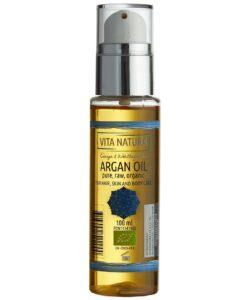 Dầu Argan hữu cơ nguyên chất Bio-Arganöl, dùng dưỡng da, dưỡng tóc, dưỡng thể, 100ml