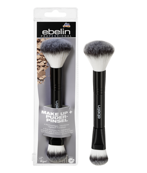 Cọ trang điểm 2 đầu Ebelin professional Make-up + Puder-Pinsel
