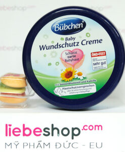 Kem chống hăm Bubchen Baby Wundschutz Creme, 150ml - Hàng xách tay Đức