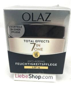 Kem dưỡng da chống lão hoá Olaz Total Effects 7 in 1 LFS 15 ban ngày, 50 ml