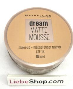 Phấn tươi Maybelline Dream Matte Mousse Make-up Sand 30