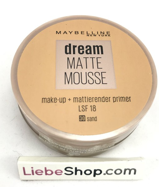 Phấn tươi Maybelline Dream Matte Mousse Make-up Sand 30