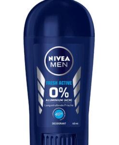 Sáp khử mùi nam NIVEA MEN Fresh Active, 40 ml