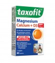 Viên uống bổ sung Canxi Magie và D3 dược phẩm taxofit Đức (Magnesium, Calcium + D3), 40 viên