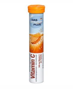 Viên sủi bổ sung vitamin Das Gesunde Plus - Vitamin C