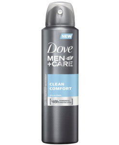 Xịt khử mùi nam Dove Men+Care Clean Comfort, 150ml