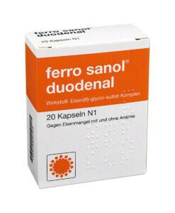 Viên sắt FERRO SANOL duodenal cho trẻ em và người lớn, 20 viên