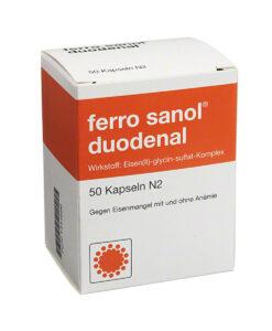 Viên sắt FERRO SANOL duodenal cho người lớn và trẻ em, 50 viên