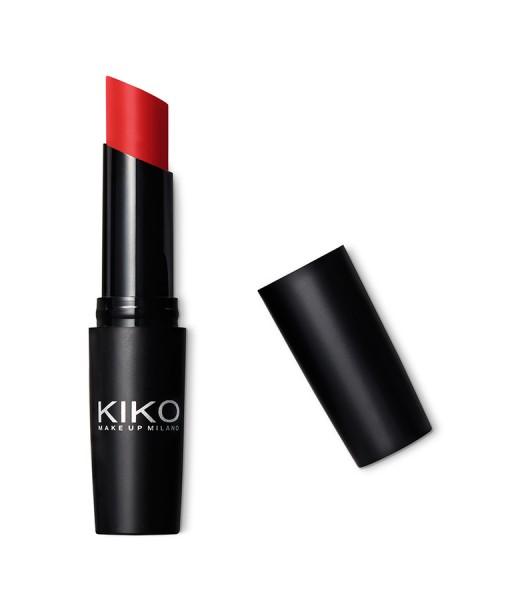 Son KIKO Ultra Glossy Stylo 808 Fire Red – Đỏ Tươi