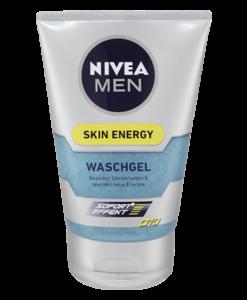 Sữa rửa mặt NIVEA MEN Skin Energy Waschgel dành cho nam giới, 100ml