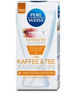 Kem đánh răng Perlweiss Kaffee & Tee Zahnweiss 50ml