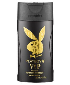 Tắm gội nam Playboy VIP Shower Gel & Shampoo, 250ml