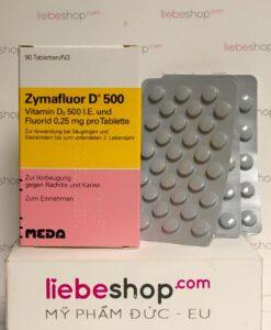 Zymaflour D500 bổ sung vitamin D3 hàng xách tay Đức