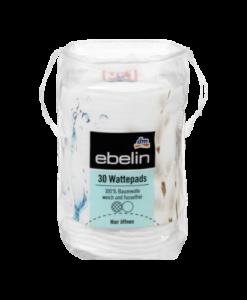 Bông tẩy trang Ebelin Wattepads, 30 miếng