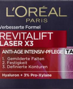 Kem dưỡng da ban ngày Loreal Revitalift Laser X3 Tag, 50ml