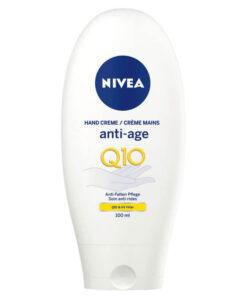 Kem dưỡng tay NIVEA Handcreme Anti-Age Q10 chống lão hóa, 100ml