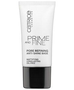 Kem lót CATRICE Prime and Fine Pore Refining Anti-Shine Base kiềm dầu, se lỗ chân lông, 30 ml
