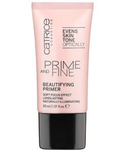 Kem lót CATRICE Prime and Fine Beautifying Primer sáng hồng da với ngọc trai và vitamin E, 30ml