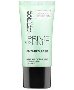 Kem lót CATRICE Prime and Fine Anti-Red Base