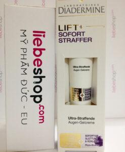 Kem dưỡng mắt Diadermine LIFT+ Sofort Straffer Augen-Gelcreme - săn chắc da vùng mắt