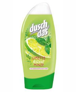 Sữa tắm Duschdas Limette küsst Minze chiết xuất chanh bạc hà, 250mlSữa tắm Duschdas Limette küsst Minze chiết xuất chanh bạc hà, 250ml