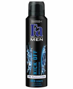 Xịt khử mùi Fa Men Kick Off Refreshing 48h, 150ml