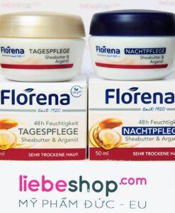 Kem dưỡng da Florena 48h Feuchtigkeit - Hàng xách tay Đức