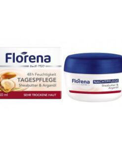 Kem dưỡng da Florena 48h Feuchtigkeit ban đêm, 50 ml