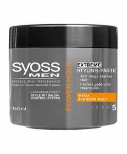 Sáp vuốt tóc SYOSS MEN POWER HOLD EXTREME STYLING-PASTE, 150ml