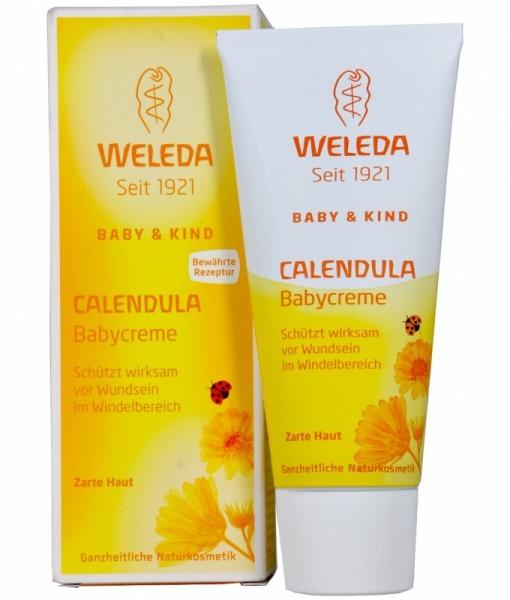 Kem chống hăm Weleda Calendula Babycreme, 75ml