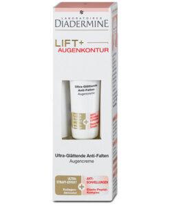 Kem dưỡng da vùng mắt Diadermine LIFT+ Augenkontur Ultra-Glättende Anti-Age chống lão hóa, 15ml
