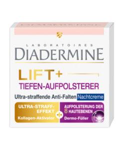 Kem dưỡng da Diadermine Lift+ Tiefen-Aufpolsterer chống lão hóa bổ sung collagen (kem đêm), 50ml