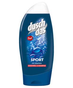 Tắm gội nam duschdas sport 2in1, 250ml