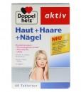 Viên uống đẹp da, tóc, móng Doppelherz aktiv Haut + Haare + Nägel, 60 viên