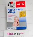 Doppelherz aktiv Haut + Haare + Nägel, 60 viên – Hàng xách tay Đức