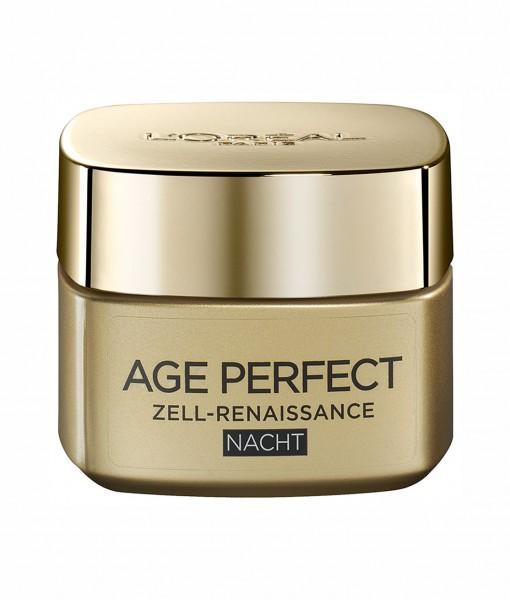Kem dưỡng da Loreal Age Perfect Zell-Renaissance ban đêm chống lão hóa, tái tạo tế bào, 50ml