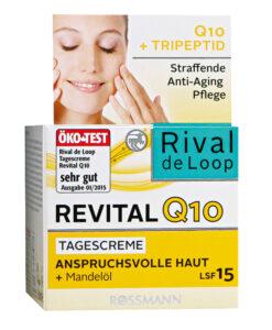 Kem dưỡng da Rival de Loop Revital Q10 Tagescreme kem ngày chống lão hóa, 50ml