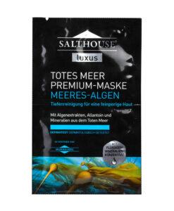 "Mặt nạ Salthouse Luxus Totes Meer Premium-Maske ""Meeres-Algen"" làm dịu da, se lỗ chân lông, 2x5ml"