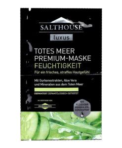 """Mặt nạ Salthouse Luxus Totes Meer Premium-Maske """"Feuchtigkeit"""" chăm sóc dưỡng ẩm da, 2x5ml"""