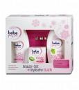 Bộ mỹ phẩm bebe Bộ sản phẩm Young Care kem dưỡng da, dưỡng thể, sữa tắm cho da khô