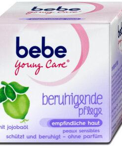 Kem dưỡng da bebe Young Care beruhigende Pflege cho da nhạy cảm, 50ml - Hàng xách tay Đức