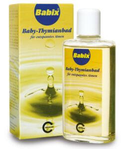 Dầu tắm Babix Baby-Thymianbad chống cảm cúm, tăng sức đề kháng, 125 ml