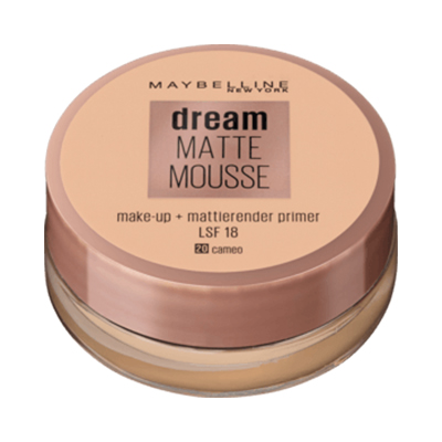 Maybelline Dream Matte Mousse Make-up Cameo 20 – Mẫu mới