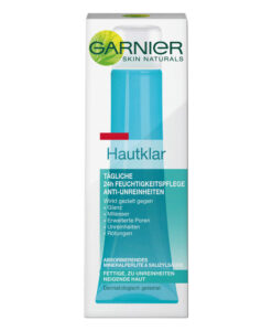 Kem dưỡng da Garnier Hautklar Tägliche 24h Feuchtigkeitspflege cho da nhờn mụn, 40ml